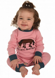 Kid's Pasture Bedtime Girl Union Suit by Lazy One