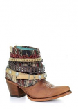Women's Honey Studded & Woven Boot by Corral