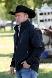 Men's Black and Gray Bonded Jacket by Cinch