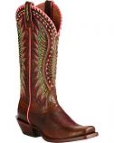 Women's Dark Brown Derby Boots by Ariat