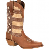 Women's Crush Distressed Flag Boot by Durango
