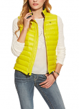 Women's Limelight Yellow Down Packable Vest by Ariat