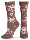 Horse Lover Crew Sock by Ariat