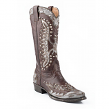 Women's Studded Eagle Western Boot by Stetson