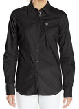 Women's Solid Black Kirby Shirt by Ariat