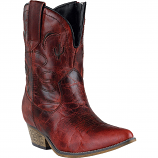 Women's Red Adobe Rose Boot by Dingo