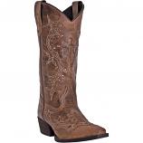 Women's Rust Cross Point Boot by Laredo
