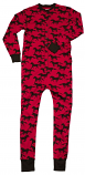 Women's Don't Horse Around Adult Flapjack Pajamas Long Johns by Lazy one