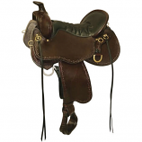 "Tucker Black Mountain Trail Saddle - 16.5"" Wide"