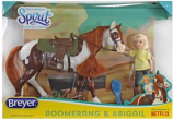 Boomerang and Abigail Gift Set by Breyer