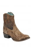Women's Distressed Chocolate Lamb Boot by Corral