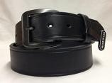 Men's 1 1/2' Black Basic Western Belt by 3D Belt Company