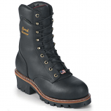 "Men's 9"" Black Super Logger Insulated Work Boot by Chippewa"