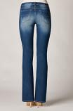 Ladies Envy Curvey Boot Fit Jean in Pebble by Dear John