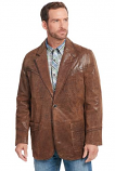 Men's Thick Stitched and Hand Laced Blazer by Cripple Creek