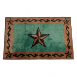 Star Bath Mat by HiEnd Accents (More Colors Available)