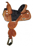Circle Y Tammy Fischer Short Horn Bling Treeless Saddle