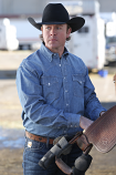 Men's Long Sleeve Chambray Button Down by Miller Ranch