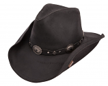 Roxbury Leather Hat by Stetson (More Colors Available)