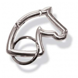 Horse Head Carabine Keychain by Kelly and Co