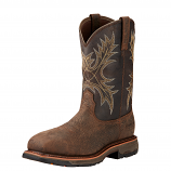 Men's Bruit Brown Work Hog Boot by Ariat