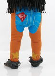 Kid's Chaps Leggings by Doodle Pants