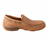 Men's Driving Moc by Twisted X Boots Bomber Smooth Ostrich Slip On