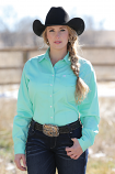 Women's Solid Button Down Shirt by Cinch - MORE COLORS
