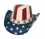American by Heart Leather Cowboy Hat by Bullhide Hat Co.