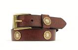 Kid's Brown Bullet Belt by Nocona
