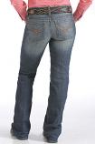 Women's Ada Relaxed Boot Cut Jean by Cinch