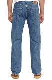 Men's 505 Regular Fit Stone Wash Jeans By Levi's