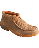 Men's Driving Moc by Twisted X Boots Bomber Tan Checkerboard