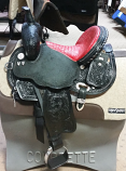 "14 1/2"" Josey Ultimate Cash Barrel Saddle by Circle Y"
