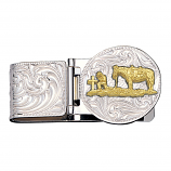 Men's Christian Cowboy Money Clip by Montana Silversmith