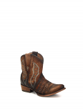Women's Embroidered Chocolate Lamb Boot by Corral