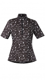 Women's Ice Fil Print Short Sleeve Shirt by Kerrits (More Colors Available)