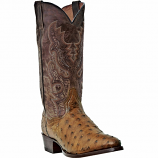 Men's Saddle Brown Full Quill Boots by Dan Post