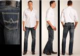 """Men's """"A"""" Pocket Pistol Straight Jean by Rock & Roll Cowboy"""