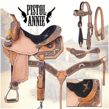 Pistol Annie Barrel Saddle Package by Tough-1