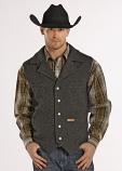 Men's Montana Wool Vest by Powder River