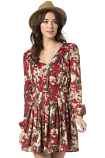 Women's Floral Fever Dress by Miss Me