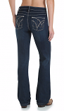 Women's Cowgirl Cut Ultimate Riding Jean- Q-Baby with Booty Up Technology Jean by Wrangler