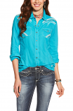 Women's Avery Snap Button Shirt by Ariat