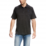 Men's Charcoal Charger Polo by Ariat