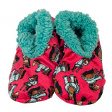 Women's I Don't Do Mornings Horse Fuzzy Feet Slippers by Lazy One