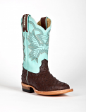 Kid's Ostrich Print Western Boot by Cinch