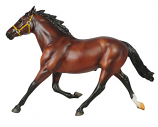 Foiled Again Richest Harness Horse in History 1:9 Scale by Breyer