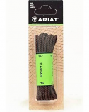"Ariat 54"" Brown Waxed Boot Laces by M&F Western Products"