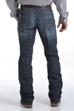 Men's Ian Slim Fit Mid Rise Dark Wash Boot Cut Jeans by Cinch